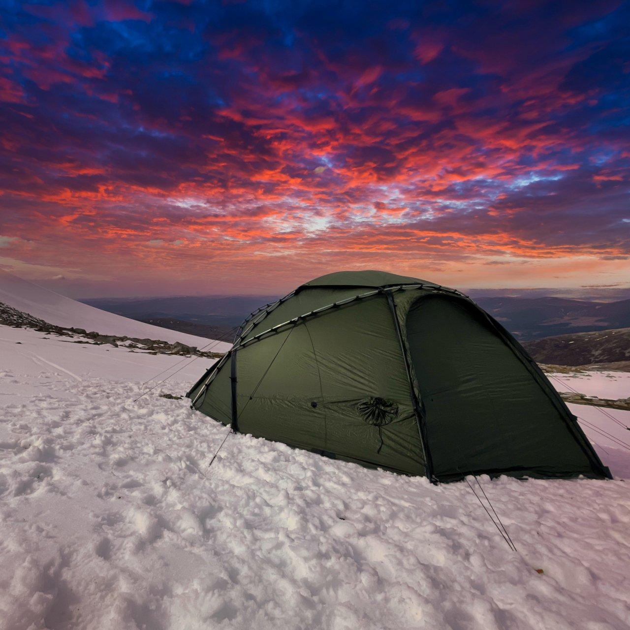 Sustainability - Military Mountain Tent